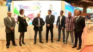 Torrevieja brilla en FITUR con su carnaval, Pesca Turismo y gastronomía
