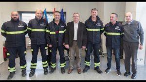 El Consorcio Provincial de Bomberos incorpora la figura de sargento en el parque auxiliar de Almoradí