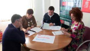 Los diputados socialistas defienden en Torrevieja unos «PGE que benefician a la VB y a Torrevieja»