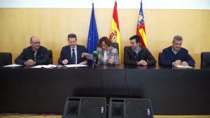 Bigastro firma con la Diputación el inicio de las obras de la primera fase del Plan de Inundabilidad
