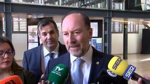 Bascuñana no se moja sobre si será el candidato del PP