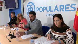 Convulsión en el PP oriolano por designar a Aparicio como candidato