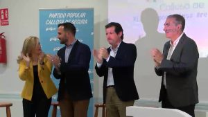 La cúpula popular respalda al candidato a la alcaldía de Callosa