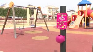 Rojales es el primer municipio de la provincia que coloca papeleras especiales para los chicles