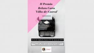 Se abre el plazo para el II Premio de Relato Corto 'Villa de Catral'
