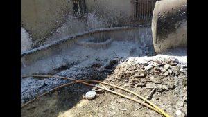 Un incendio amenaza con alcanzar una carpintería ubicada entre Algorfa y Los Montesinos