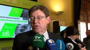 Ximo Puig asegura que la Vega Baja no está discriminada por la Generalitat