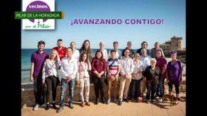 Presentación candidatura grupo político Vecinos por el Pilar