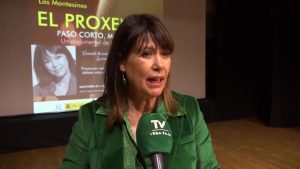 Mabel Lozano presenta su documental 'El Proxeneta' en Los Montesinos