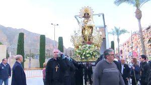 La patrona de la Comunidad Valenciana peregrina a Orihuela