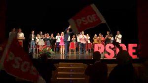 El PSOE de Almoradí presenta su candidatura en el Teatro Cortés
