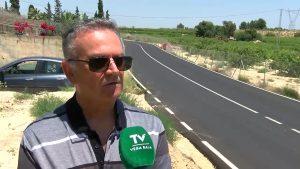 Denuncian el peligro de una carretera en San Miguel de Salinas