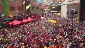 El Festival del Chupinazo de Catral reúne a un millar de personas
