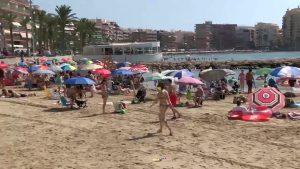 Una ola de calor comenzará este miércoles a afectar a toda la Vega Baja