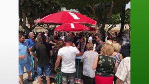Reparten más de 1.000 «pelotas» en las Fiestas Patronales de Benejúzar