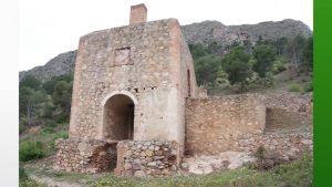 El complejo minero de San Antón, de Orihuela, en la lista roja de monumentos amenazados