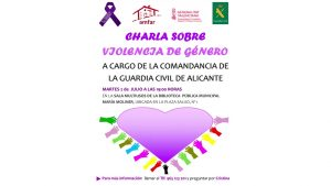 Charla sobre la violencia de género en Orihuela