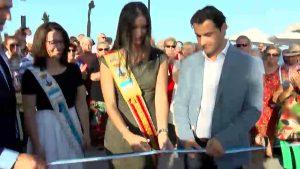 Después de años de retrasos se inaugura el nuevo paseo de Punta Margalla de Torrevieja
