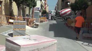 La calle España de Almoradí será más accesible antes de que finalice el verano