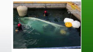 La Guardia Civil recupera el barco hundido en Cala Capitán el pasado mes de julio