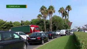 Muere una mujer atropellada por un camión mientras cruzaba un paso de peatones en Torrevieja