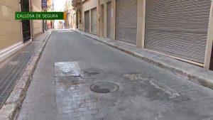 El pavimento del casco histórico de Callosa será restaurado con una inversión de más de 80.000 euros