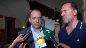 El vicepresident y conseller de Vivienda, Martínez Dalmau, visita la Vega Baja