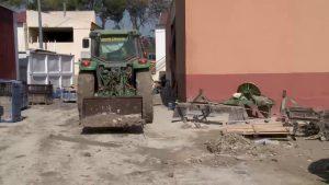 La Diputación trabaja en la apertura y reparación de caminos afectados por el temporal