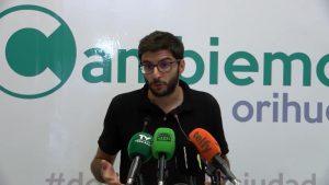 Cambiemos Orihuela cuestiona el convenio existente entre Ayuntamiento y Colegio de Arquitectos