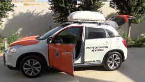 Almoradí estrena un nuevo vehículo de Protección Civil