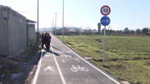 Nuevo carril bici en Almoradí
