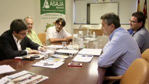 La Diputación respalda las reivindicaciones de ASAJA