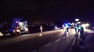 Dos heridos al chocar dos vehículos en la N-332, a su paso entre Guardamar y San Fulgencio.
