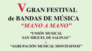 V Festival de Bandas de Música «Mano a mano»