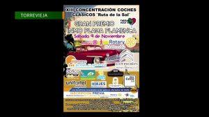 Rotary Club organiza las XIII Concentración de coches clásicos «Ruta de la Sal»