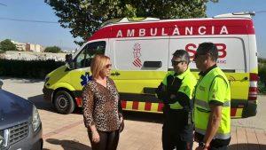 Callosa recupera la ambulancia en el Museo del Cáñamo