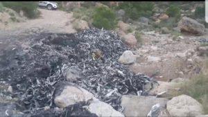 Persecución por la sierra: la Policía Local de Albatera detiene a un presunto ladrón de cobre
