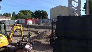 Granja de Rocamora comienza las obras de ampliación del Colegio Público San Pedro Apóstol