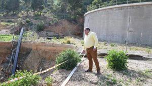 La reparación del talud de San Antón llevará consigo la mejora del entorno