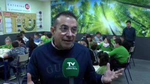 El colegio de Hurchillo recibe el Premio Nacional de Alimentación Escolar