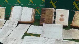 Recuperados más de una veintena de documentos del Patrimonio Documental Histórico Español