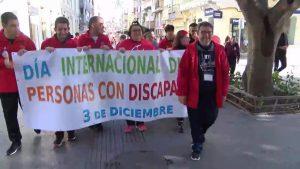 Primera marcha por la discapacidad en Almoradí