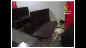 La Guardia Civil esclarece tres robos con fuerza cometidos en cafeterías de Callosa de Segura