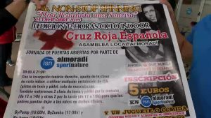 Pedaladas solidarias en Almoradí para ayudar a los necesitados