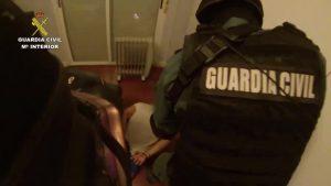 Operación contra el tráfico de drogas: la Guardia Civil detiene a 30 personas