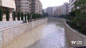 El río Segura da positivo en detergentes aniónicos