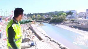 La Confederación Hidrográfica mejora el cauce del río Segura en Rojales