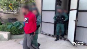 La Guardia Civil detiene en Redován a un hombre huido de la justicia desde hacía tres años