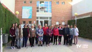 Primera ruta en Dolores con motivo de la conmemoración internacional de la enfermera y la matrona
