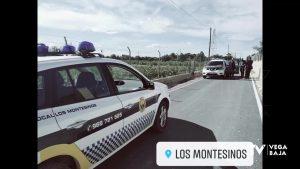 La Policía Local de los Montesinos sorprende a un hombre que intentaba acceder a un almacén agrícola
